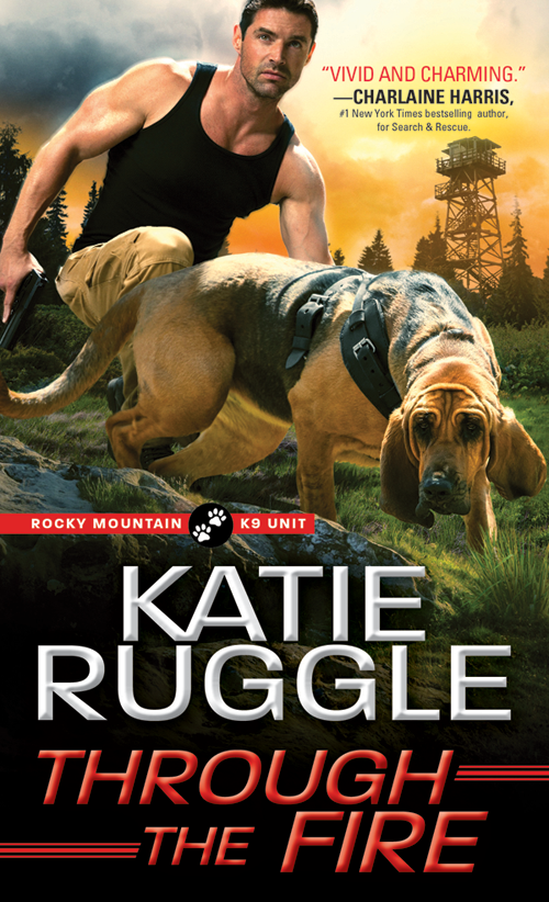 Rocky Mountain K9 Unit series Book #4: <i>Through the Fire</i> (Available Aug. 7, 2018)